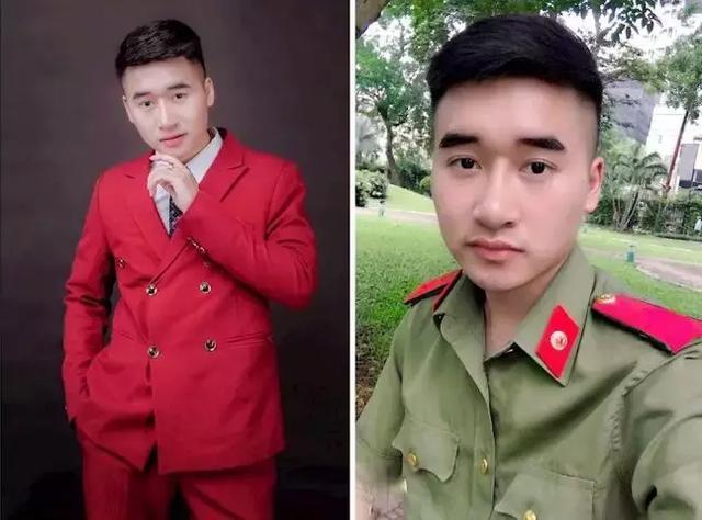 越南最帅男警察,颜值堪比明星